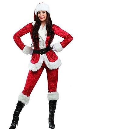 CN Disfraz de Navidad Niño Adulto Dulce Traje de Papá Noel ...