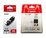 CANON Ink Cartridge Canon PGI Pack 550XL Black + CLI 551 4 colors (Cyan/Yellow/Black/Magenta)