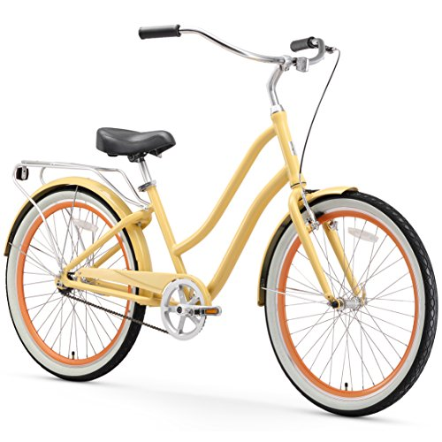 sixthreezero EVRYjourney Women's Single Speed Step-Through Hybrid Cruiser...