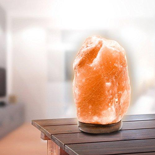 Natural Himalayan Ionic Crystal Salt Lamps. Clear The Air, L