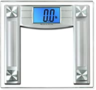BalanceFrom High Accuracy Digital Bathroom Scale with 4.3″ Large Backlight Display and Step-on…