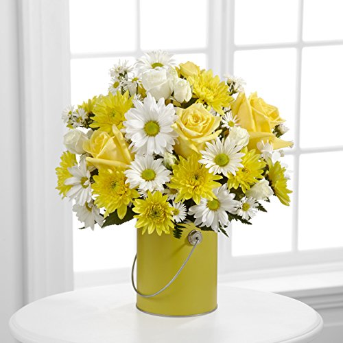 Color Your Day With Sunshine Bouquet - Fresh Flowers Hand Delivered in Albuquerque Area