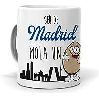 Taza Ser de Madrid Mola un Huevo