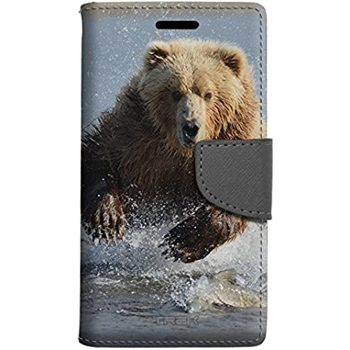 Samsung Galaxy S7 Edge Wallet Case - Grizzly Bear Case Sales