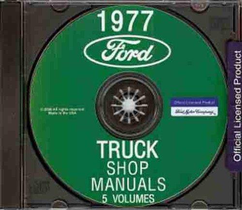 Ford F-series Pickup Radiator - 1977 FORD PICKUP, BRONCO & TRUCK FACTORY REPAIR SHOP & SERVICE MANUAL CD - F100, F150, F250, F350, F-Series, E-Series, P-Series, L-Series, N-Series, C-Series, CT-Series, Diesel