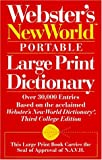 Webster's New World Portable Large Print Dictionary, , 067188350X