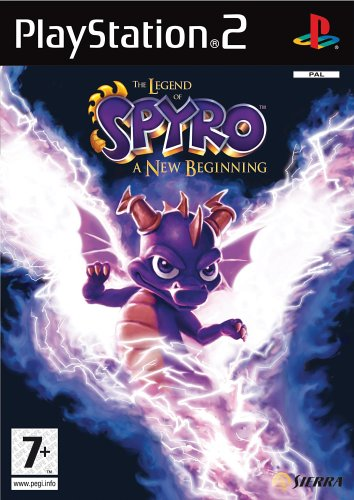 Legend of Spyro: A New Beginning (PS2) (Ps2 New Game)