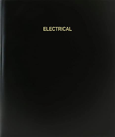 Amazon com : BookFactory® Electrical Log Book / Journal