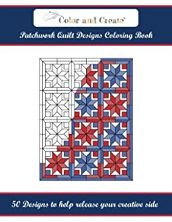 Coloring Book Of Quilt Blocks Designs Editors At Landauer Publishing 0748628113428 Books Amazon Ca