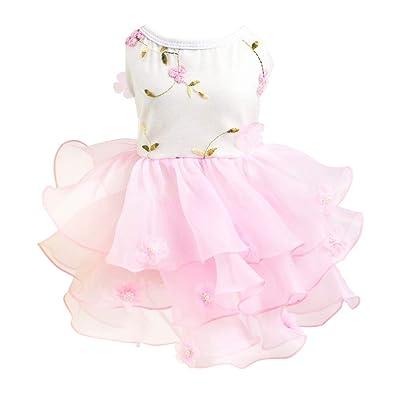 Adarl Summer Louver Pet Dress