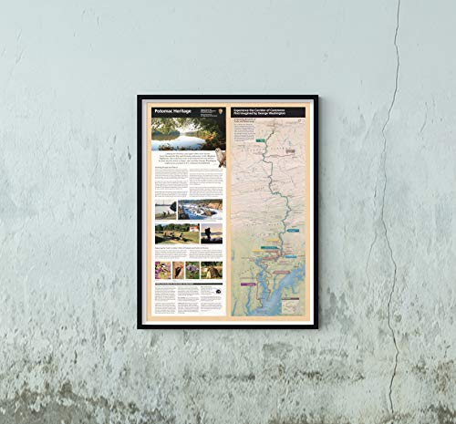 2010 Map Title: Potomac Heritage National Scenic Trail : Washington D.C, Maryland, Pennsylvania, -