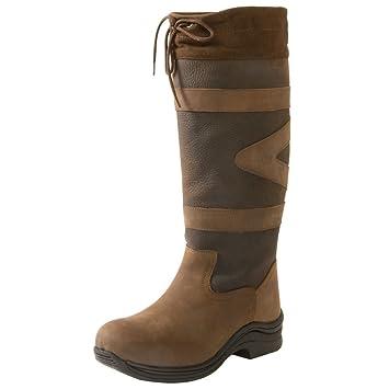 Toggi Women's Canyon Long Leather Boot-Chocolate: Amazon.co.uk ...