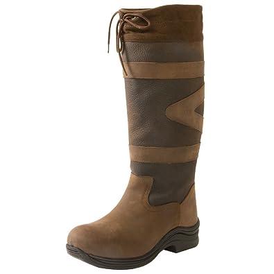 Toggi Mujer Cañón Largo Botas De Cuero: Amazon.es: Zapatos y complementos