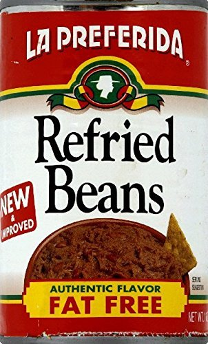 Bean La Preferida - La Preferida Refried Beans Fat Free, 16-Ounce (Pack of 12) by La Preferida