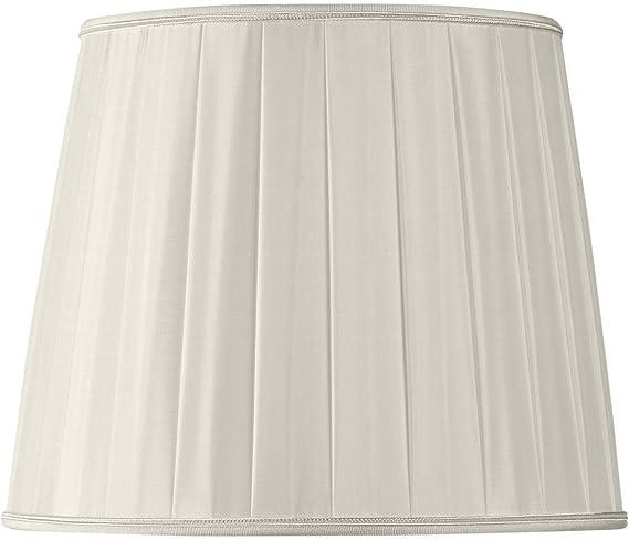 Pantalla para lámpara plisada forma US diámetro 50 x 35 x 40 (plisada mano): Amazon.es: Iluminación