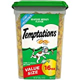 Temptations Classic Treats for Cats Seafood Medley Flavor, 16-Ounce