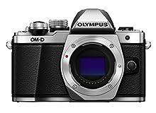 Olympus OM-D E-M10 Mark II Mirrorless Camera (Silver) - Body only