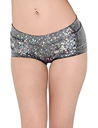 Women's Booty Shorts Low Rise Festival Rave Bottoms