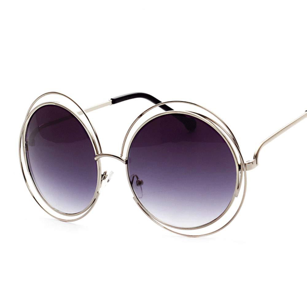 SHINERING Hueco Grande Anillo Redondo Gafas de Sol Moda ...
