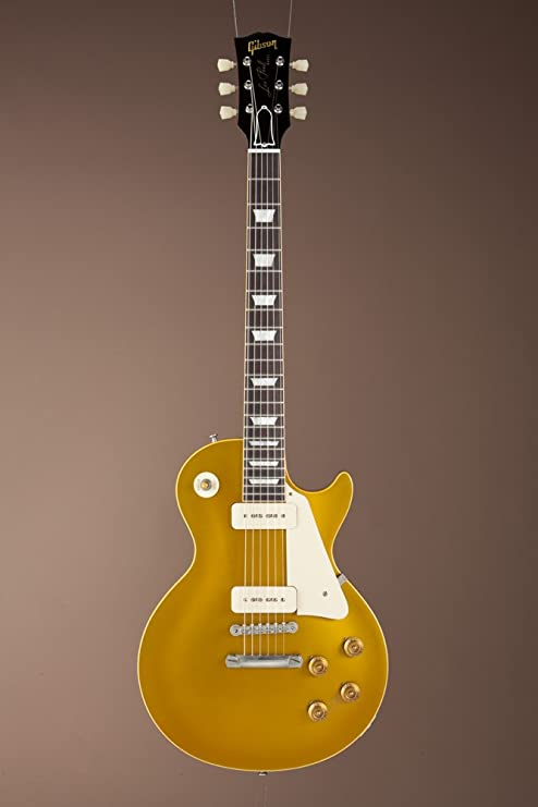 Gibson 1956 LES Paul Gold - Copa de vino con estuche: Amazon.es: Instrumentos musicales