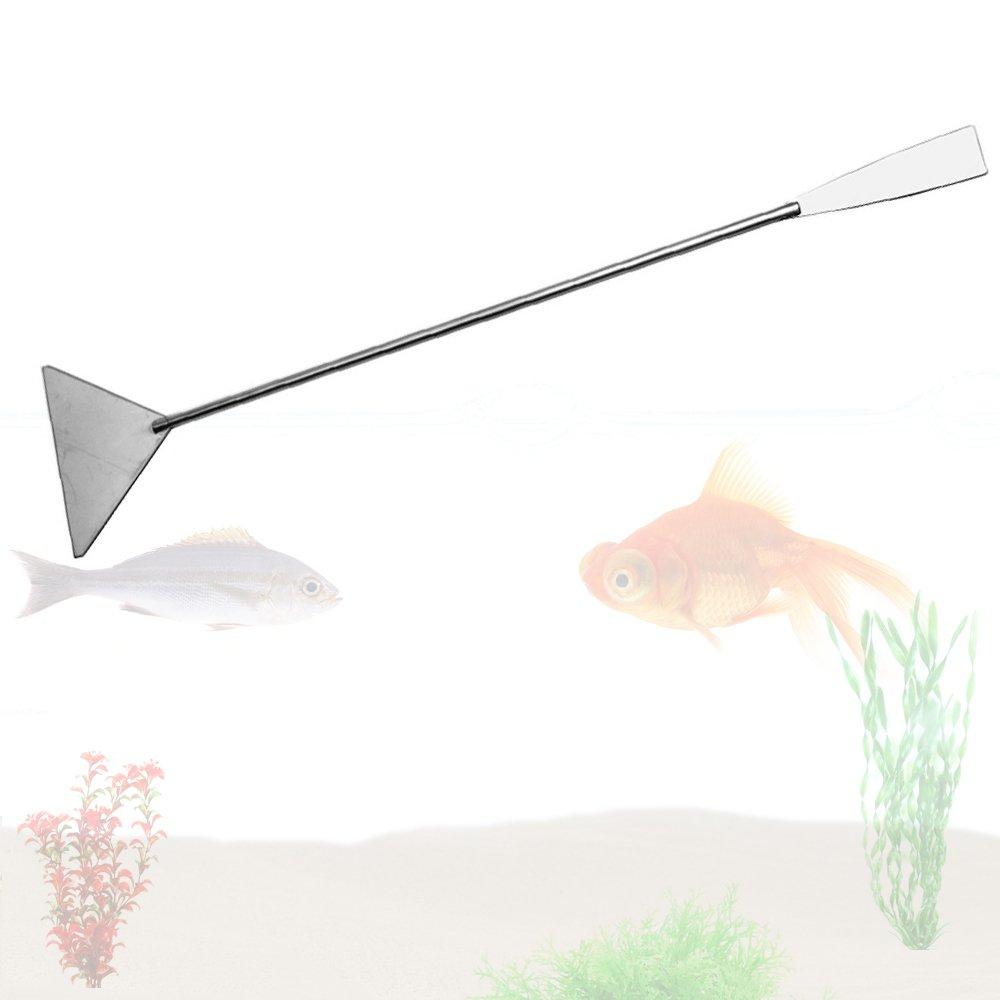 Kangkang Aquarium Fish Tank 33CM Stainless Steel Substrate Gravel Sand Scraper Flattener