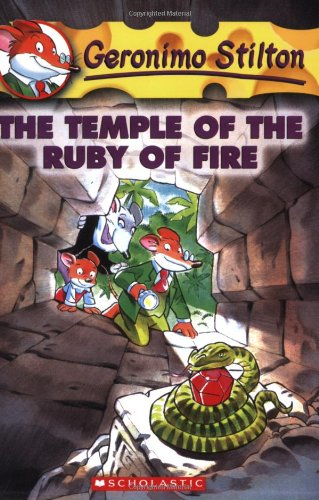 The Temple of the Ruby of Fire (Geronimo Stilton, No. 14)