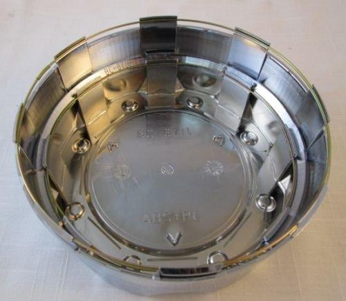 Liquid Metal Chrome Custom Wheel Center Cap Set of 4 Pn: BC-671 Short by Liquid Metal (Image #3)