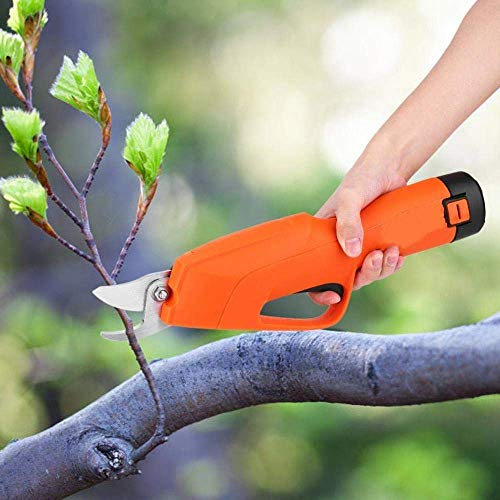 Corxzh86ess Electric Pruning Shears, Secateurs Pruning Cutter Garden Tool Rechargeable 12V Li-Ion Tree Branch