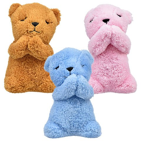 Talking Lord's Prayer Plush Prayer Bears, 6 in (Set of