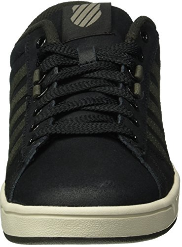K-Swiss Men's Hoke C CMF Low-Top Sneakers, Black Black (Blk/Beluga/Pumice Stone)