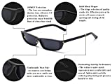 Gobiger Rectangle Small Frame Sunglasses Fashion