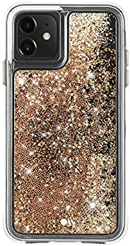 Case-Mate - iPhone 11 Glitter Case - Waterfall - 6.1 - Gold