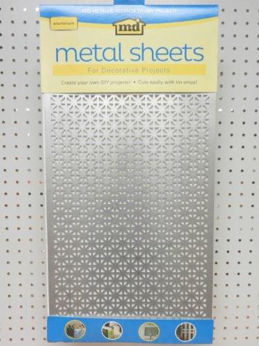 M D Hobby Craft 57319 Aluminum Metal Hobby Sheet Construction