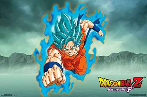Trends-International-Dragon-Ball-Z-Resurrection-F-goku-Wall-Poster-22375-X-34