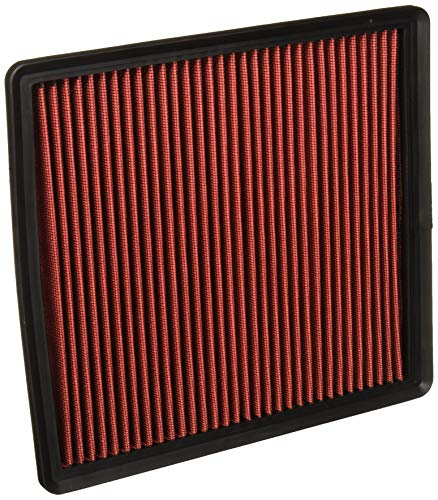 DNA motoring AFPN-140-RD Drop in Panel Air Filter [for 07-17 Ford Expedition/F-Series/Lincoln Navigator]