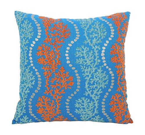 Arlee Coral Garland Toss Pillow, 20