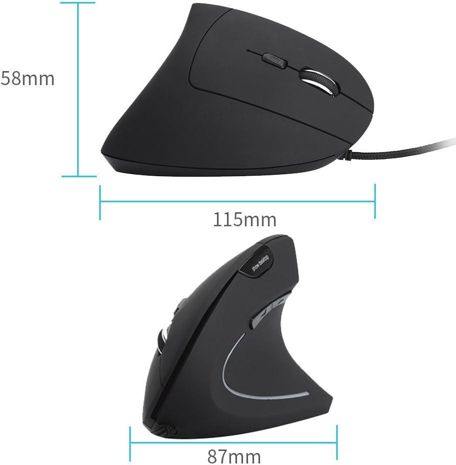 OHQ RatóN Nuevo Mouse con Cable Vertical RatóN con Cable para Microsoft Surface ARC 3D RatóN con Ordenador 2.4Ghz Plegable Bluetooth Wireless Mouse Slim Teclado Auriculares (Negro)