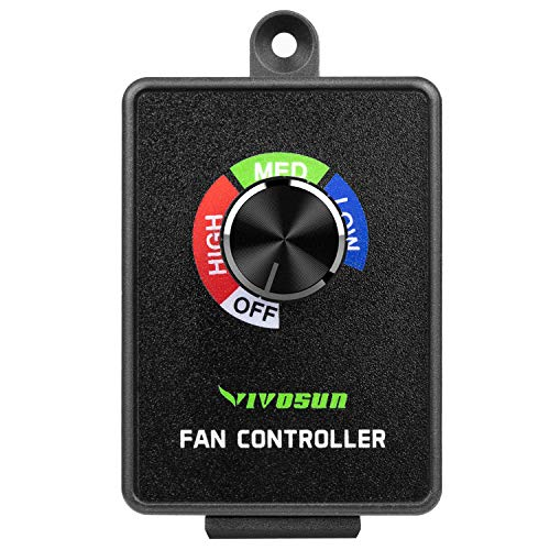 (VIVOSUN Inline Duct Fan Speed Controller Vent Fan Speed Adjuster)