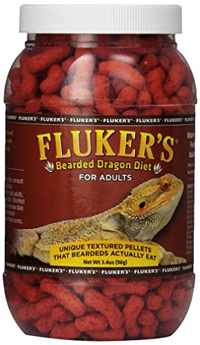 - Fluker Labs SFK76021 Adult Bearded Dragon Diet Food, 3.4-Ounce