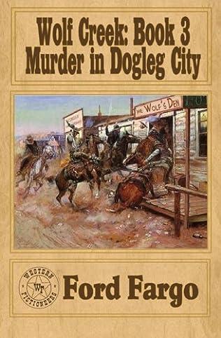 book cover of Murder in Dogleg City