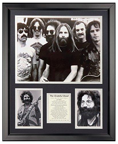"""Legends Never Die Grateful Dead Framed Photo Collage, 16"""" x 20"""""""