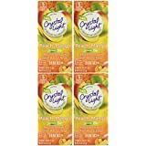 Crystal Light On The Go Green Tea Peach Mango, 10-Count Boxes (Pack of 4)