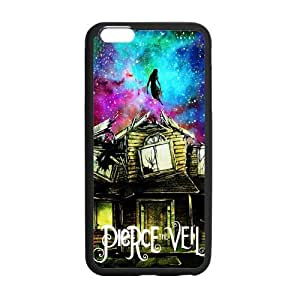 LeonardCustom- PTV Pierce the Veil Protective Hard Rubber Coated Cover Case for iPhone 6 Plus 5.5