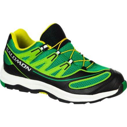 b0cb6dc92adc Salomon XA Pro 2 K Hiking Shoe - Boys  Clover Green Black Mimosa Yellow