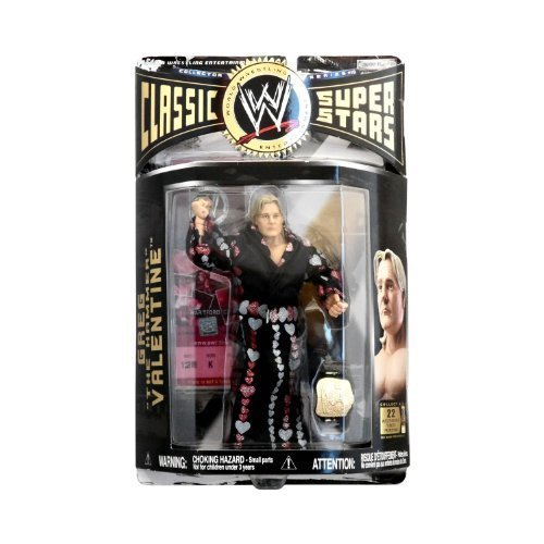 Jakks Pacific WWE Wrestling Classic Superstars Series 10 Greg The Hammer Valentine Action Figure