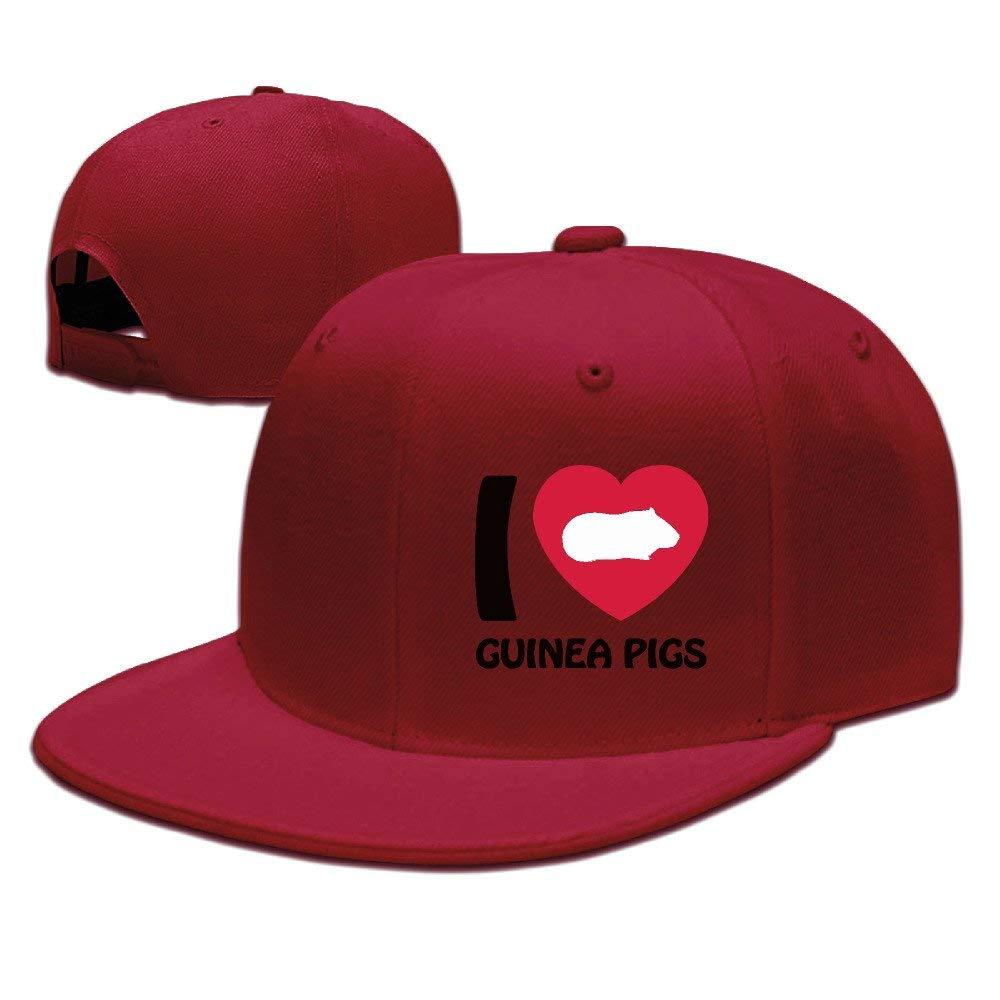 I Love Hamster Heart Baseball Cap Polo Style Adjustable Cotton Baseball