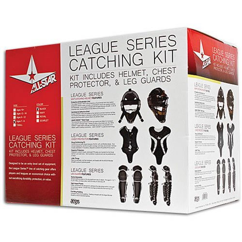 All-Star Youth League Series Catchers Gear Sets Tee Ball - Catcher Little League