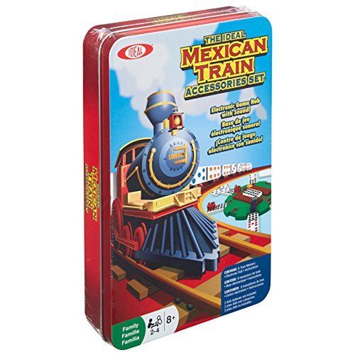Includ Yellow Mountain Imports Dominoes Accessory Set Mexican Train Dominoes
