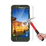 Galaxy S7 Active Tempered Glass Screen Protector [Not Fit For Galaxy S7)],Mashiro Bubble-free Anti-Scratch 9H Premium Tempered Glass HD Ultra Clear Film Screen Protector for Galaxy S7 Active (1 Pack)