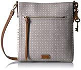 Image of Fossil Emma N/s Crossbody-Grey/White